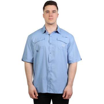 Men's Realtree Woven Fishing Button-Down Shirt