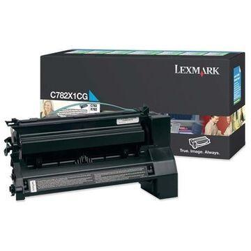 Lexmark Original Toner Cartridge - Laser - 15000 Pages - Cyan - 1 Each