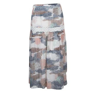 See by Chloe Multicolor Printed Partially Lined Maxi Skirt M