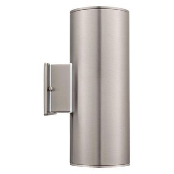 Eglo 90121A 2X75W Wall Light Led - Stainless Steel