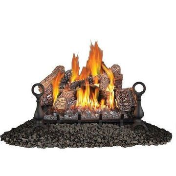 Napoleon Fiberglow 24-Inch Vent-Free Logs for Propane Fireplace (Open Box)