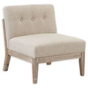 INK+IVY Oaktown Lounge Chair in Tan