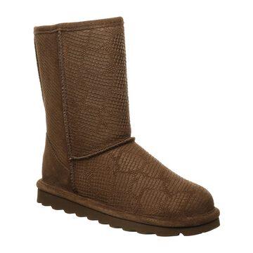 BEARPAW Women's Casual boots EARTH - Earth Embossed Eliana Suede Boot - Women