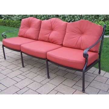 Oakland Living Berkley Patio Sofa with Cushion
