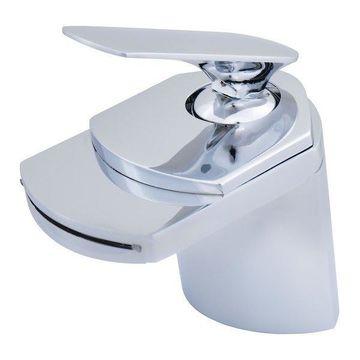 Wave Single Handle Lav Faucet, Chrome