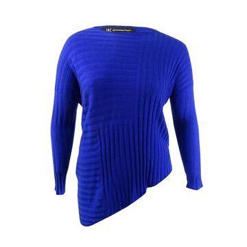 INC International Concepts Women's Asymmetrical Sweater