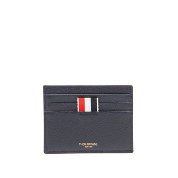 Thom Browne - Striped Leather Cardholder - Mens - Multi