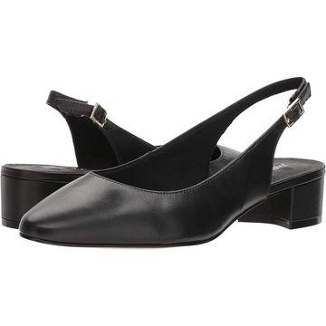 Walking Cradles Womens Hazel Leather Closed Toe SlingBack Classic Pumps