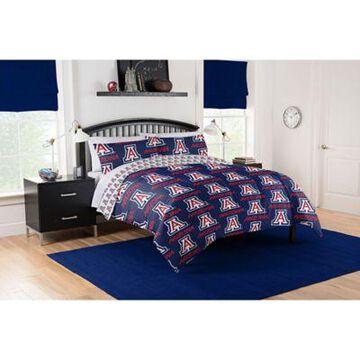 Arizona Wildcats 5-Piece Queen Bed in a Bag Comforter Set Multi