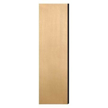 SALSBURY INDUSTRIES 33333DE-MAP End Panel,Flat Top,36'' Wx72'' H,Maple