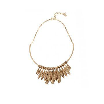 Robert Lee Morris Soho Women's Shaky Leaf Wire Necklace