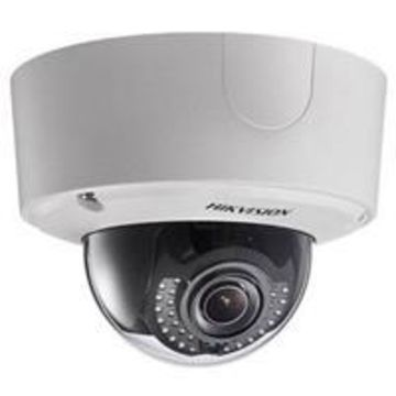 Hikvision 2MP WDR Outdoor Dome Network Camera with 2.8-12mm Motorized Varifocal Lens, H264, Day/Night, IR, IP66, Heater, PoE+/24VAC/12VDC