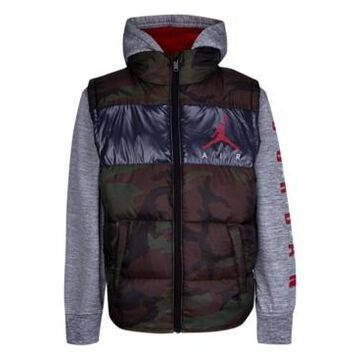 Jordan Little Boys Colorblock 2Fer Jacket