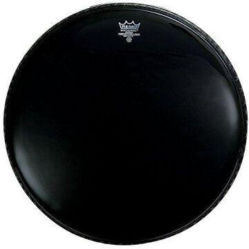 P31022ES-U 22 in. Powerstroke 3 Ebony Front Bass Drum Resonant Head