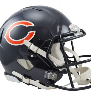Riddell Chicago Bears Revolution Speed Football Helmet