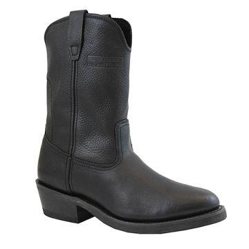 AdTec Men's 1511 Ranch Wellington Boots Tumble Black