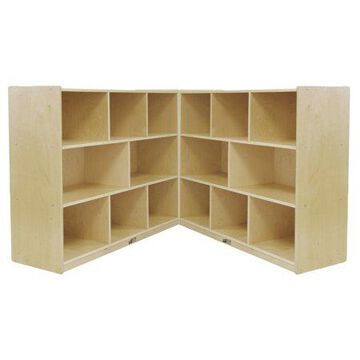 Birch 8-Compartment Fold and Lock Cabinet 36in H