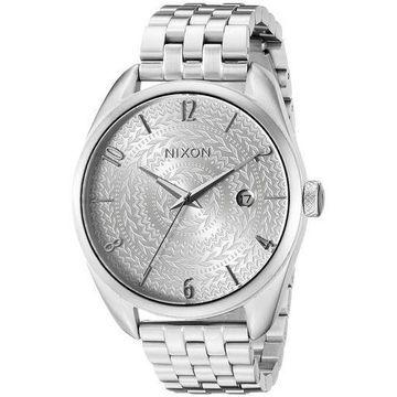 Nixon Womens A4182129 Bullet Analog Display Japanese Quartz Silver Watch
