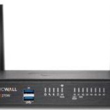 SonicWall TZ270W Network Security/Firewall Appliance - 8 Port - 10/100/1000Base-T - Gigabit Ethernet - Wireless LAN IEEE 802.11ac - DES, 3DES, MD5, SH