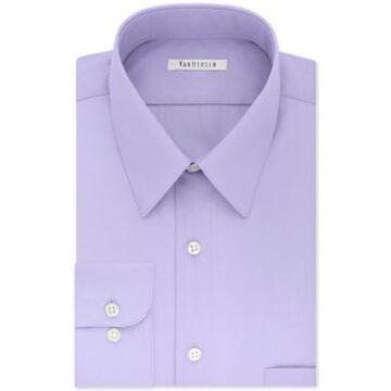 Van Heusen Men's Big & Tall Classic/Regular Fit Wrinkle Free Poplin Solid Dress Shirt