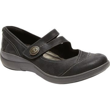 Aravon Women's REVshow Black Burnished Leather