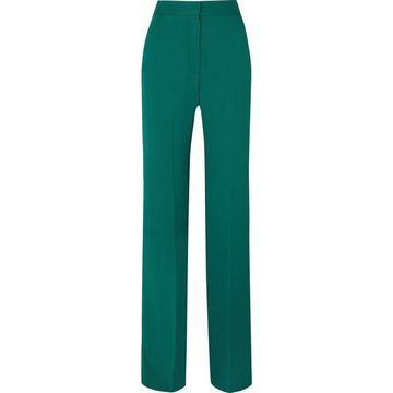 Antonio Berardi - Crepe Wide-leg Pants - Green