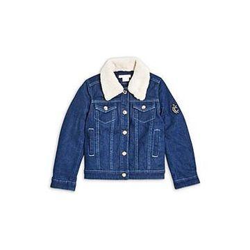 Chloe Girls' Mini Me Denim Jacket - Little Kid, Big Kid