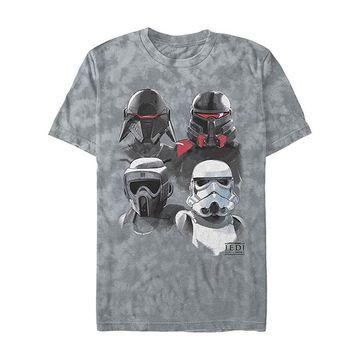 Fifth Sun Tee Shirts GREY - Star Wars: Jedi Fallen Order Gray Rock Fourth Order Tee - Adult