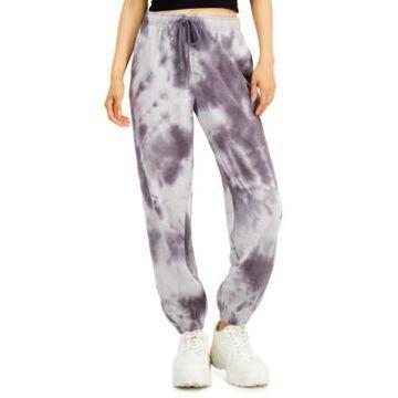 Hippie Rose Juniors' Tie-Dyed Sweatpants