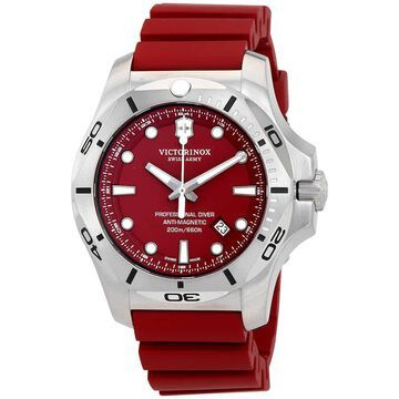 Victorinox I.N.O.X. Professional Diver Red Dial Men's Watch 241736