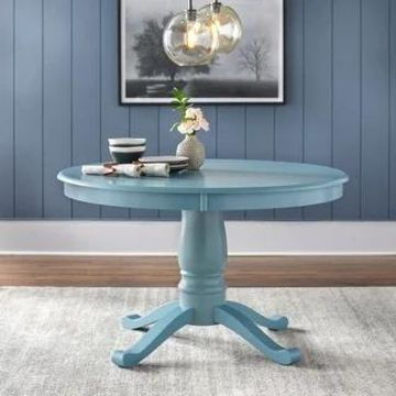 Simple Living Alexa Round Dining Table (Antique Blue)