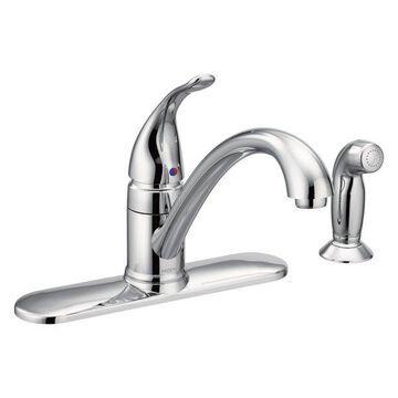 Moen Torrance Chrome 1-Handle Kitchen Faucet