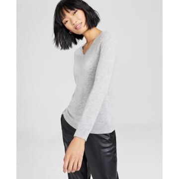 Charter Club V-Neck Cashmere Sweater, In Regular and Petites, Created for Macy's