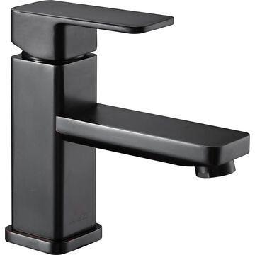 ANZZI Naiadi Oil Rubbed Bronze 1-handle Single Hole WaterSense Bathroom Sink Faucet | L-AZ122ORB