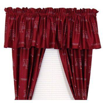 Texas A&M Aggies Printed Curtain Panels 42
