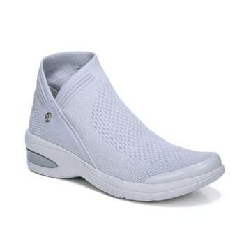 Bzees Romance Knit Ankle Boots Women's Shoes
