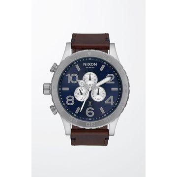 Nixon The 51-30 Chrono Leather Watch