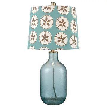 Pomeroy Delphin Lamp, Smoked Azure