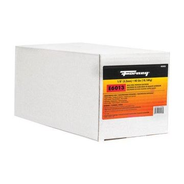 Forney 1/8 in. Dia. x 15 in. L E6013 Mild Steel Welding Electrodes 83000 psi 40 lb.