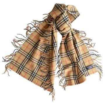 Burberry Beige Cashmere Scarves