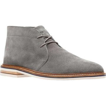 Bostonian Men's Dezmin Mid Boot Grey Suede