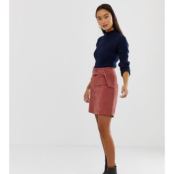New Look skirt with buckles in cord