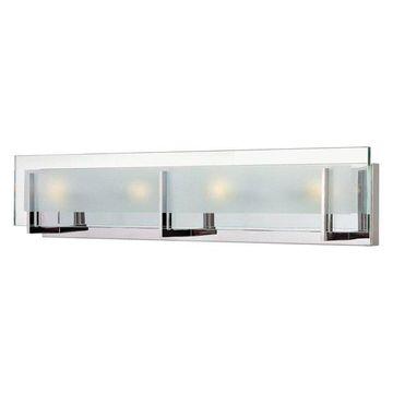 Hinkley Lighting 5654CM-LED2 Latitude Bathroom Light, Chrome