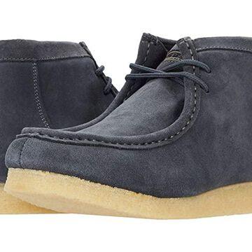 Roper Gum Sticker (Grey Suede Leather) Men's Boots