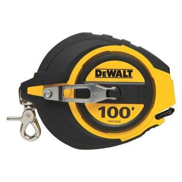 DeWalt 100' Closed Case Long Tape Reel