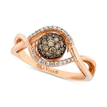 Petite Le Vian Diamond Cluster Ring (1/3 ct. t.w.) in 14k Rose Gold