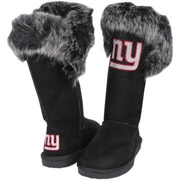 Women's Cuce Black New York Giants Devoted Boots