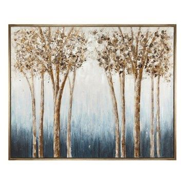 Imax 14927 Joanna Framed Oil Painting, Brown