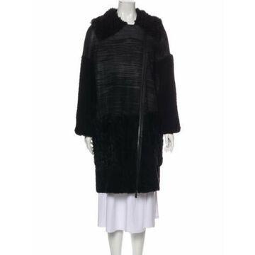 Shearling Fur Jacket w/ Tags Black