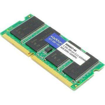 AddOn AA160D3SL/8G x1 Lenovo 03X6657 Compatible 8GB DDR3-1600MHz Unbuffered Dual